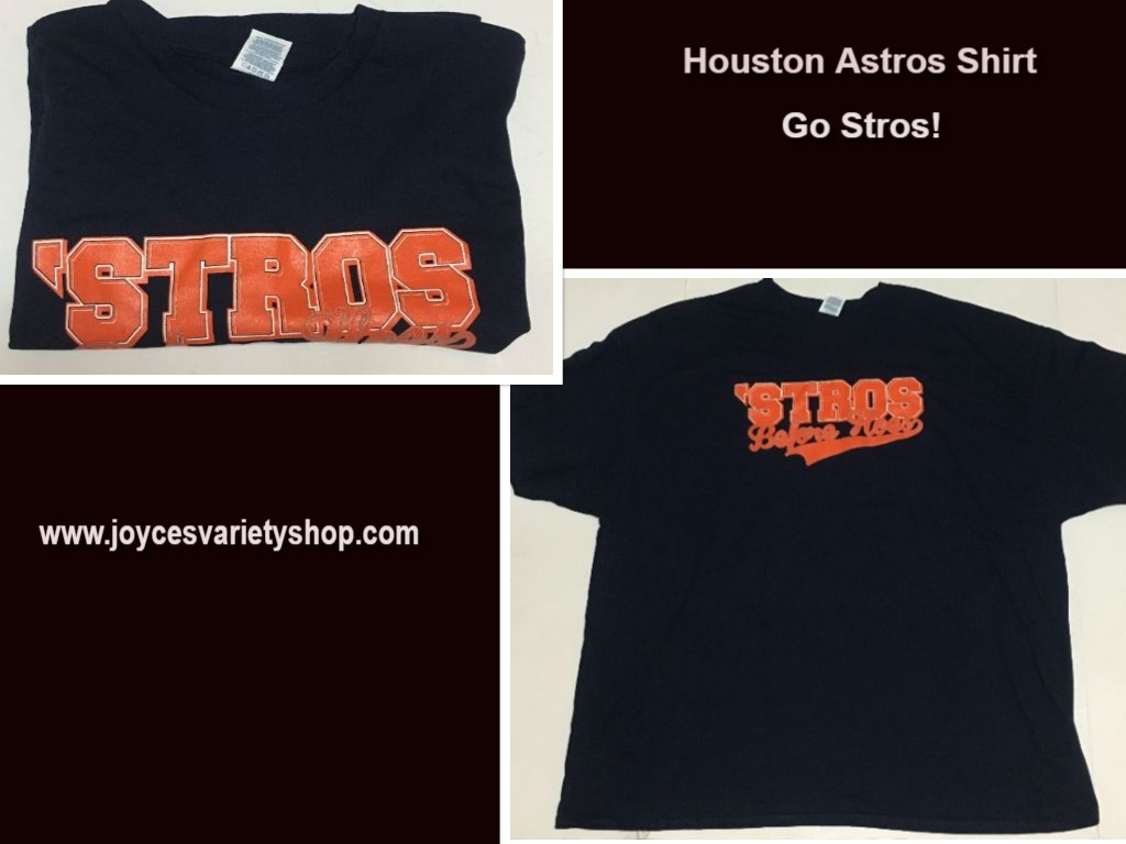 Houston Astros Baseball STROS B4 HOES Men's 4XL T-Shirt