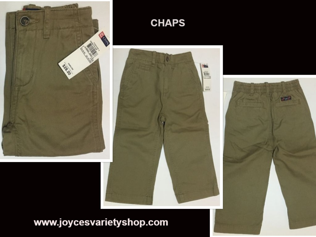 Chaps Brown Khaki Pants Jeans SZ 24 Mo Toddler (28 1/2 - 30 LBS)