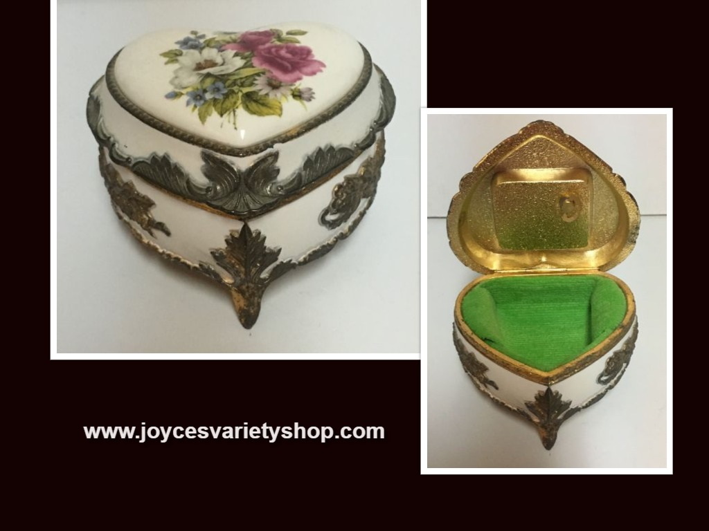 The San Francisco Music Box Company Jewelry Trinket Box