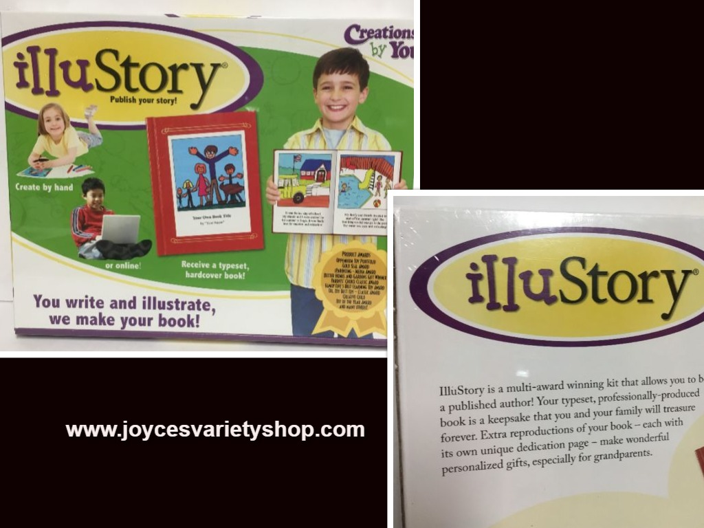 Illu Story Creations By You Book Complete Kit